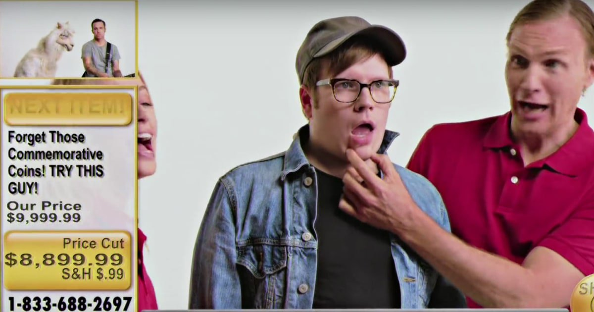 See Fall Out Boy's goofy infomercial music video for 'Wilson (Expensive Mistakes)' https://t.co/e5nhqyb2pA https://t.co/xGq85wVkhK