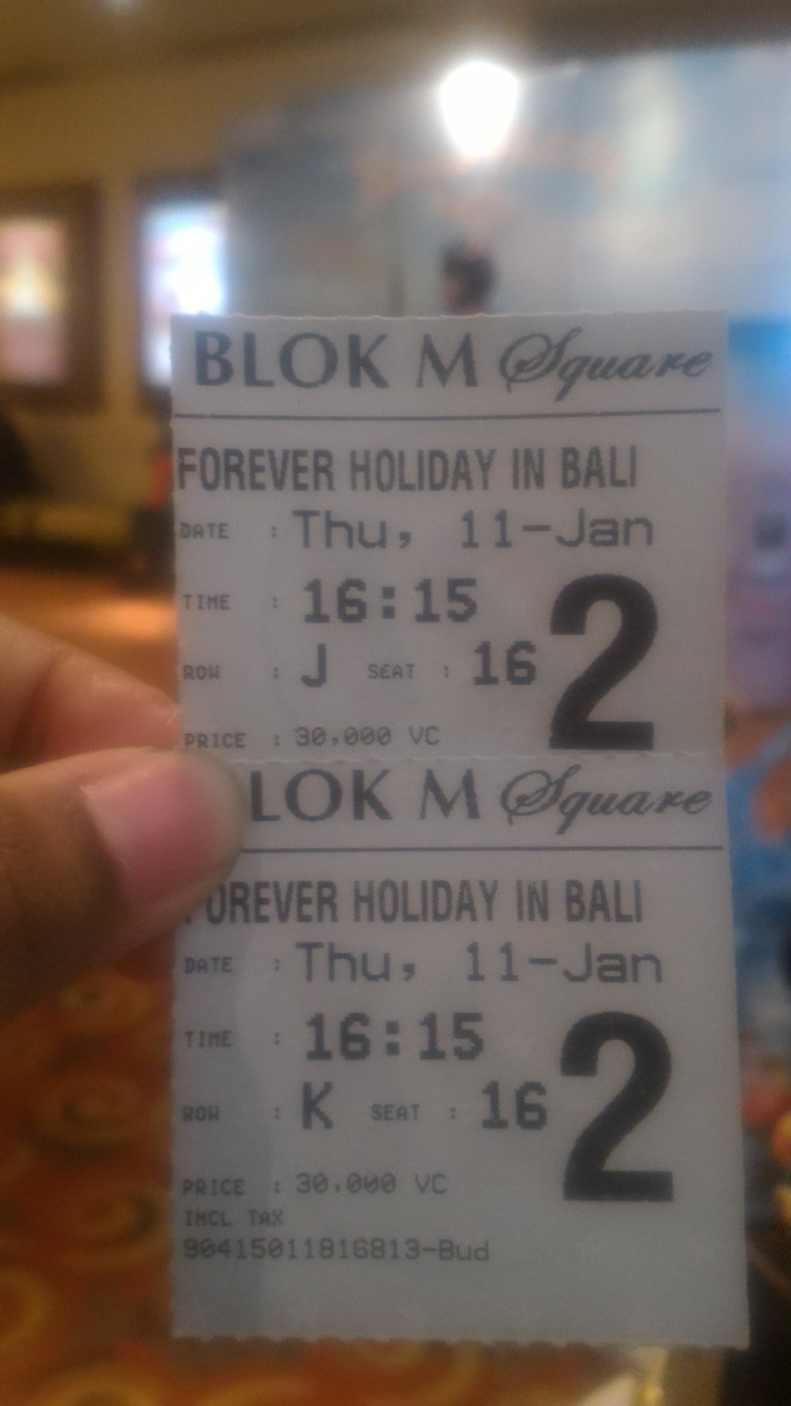 Forever Holiday in Bali Premiere  January, 11st 2018 #Thunder #천둥 #MBLAQ https://t.co/lh8EmG07Lk