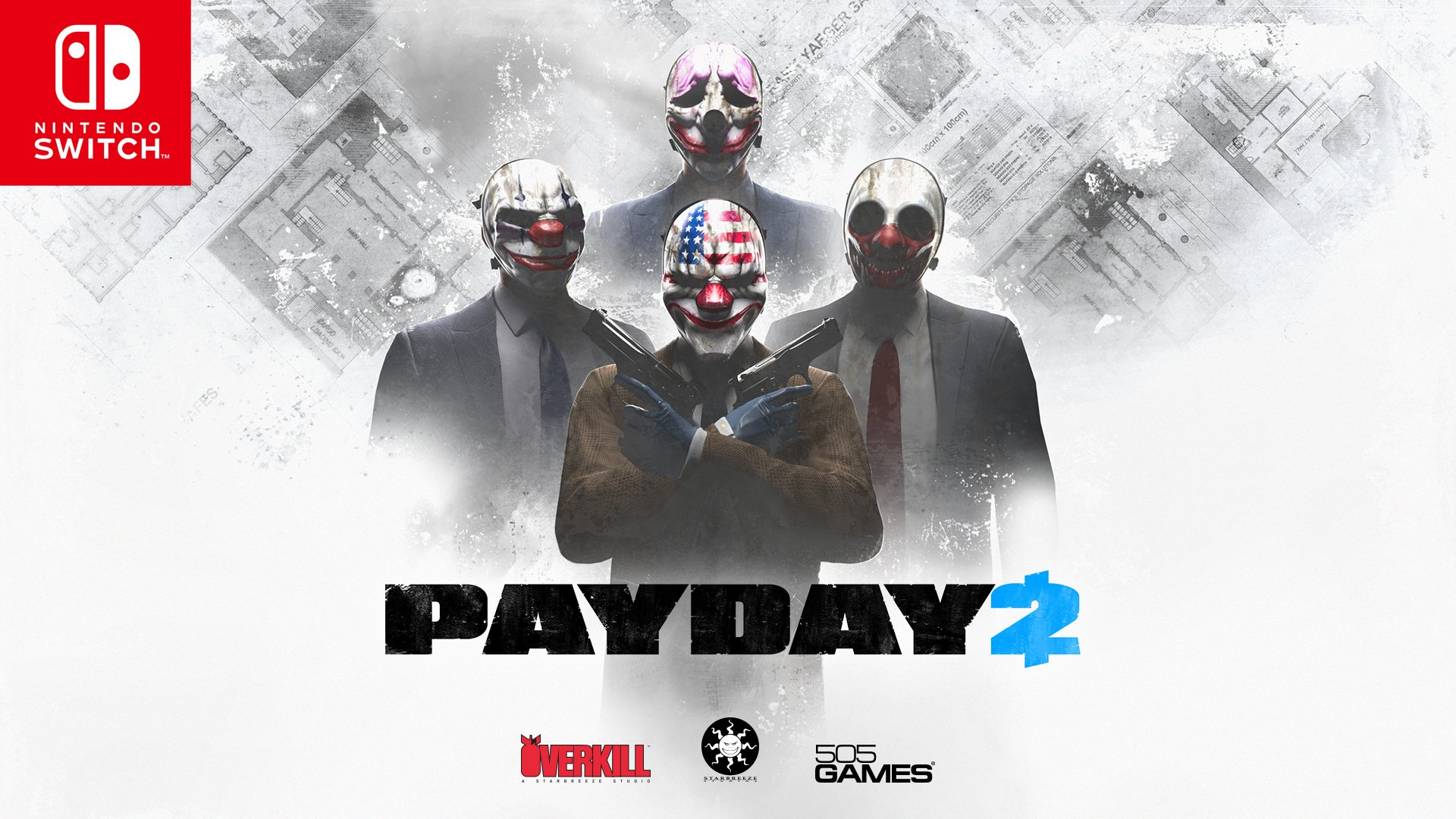 Take your heisting experience on the go when the 4-player co-op shooter #PAYDAY2 comes to #NintendoSwitch on 2/27. https://t.co/3DebBWJi2z
