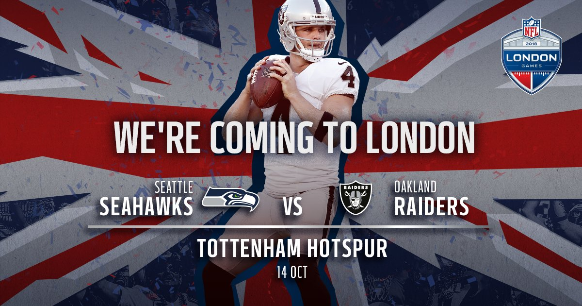 ICYMI: We're hosting the first NFL game in the Tottenham #SpursNewStadium.  More: https://t.co/qEGQnuJKSg ���� https://t.co/JUOmomE0Pp