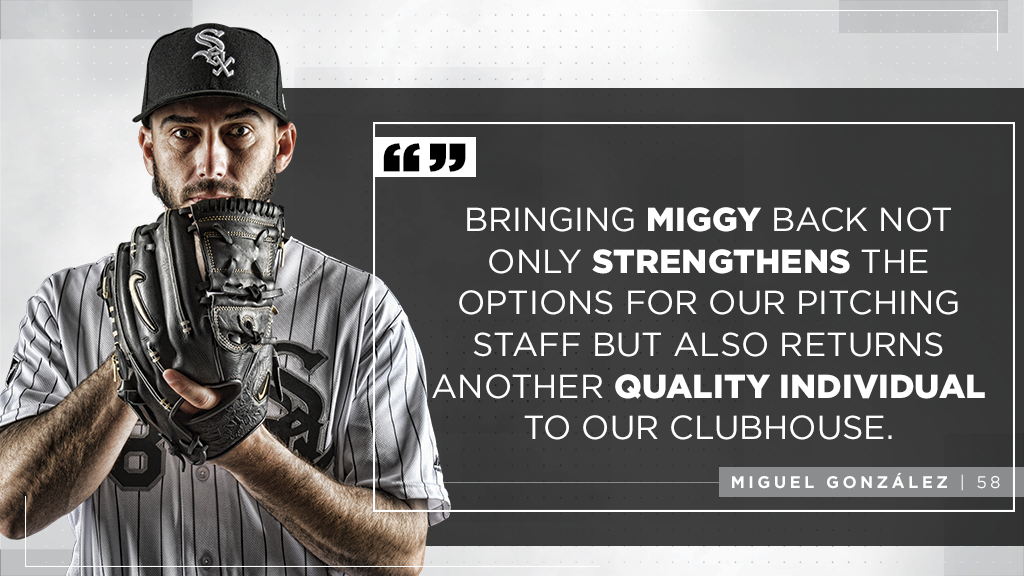Rick Hahn on Miguel González: https://t.co/eL7i0ga9md