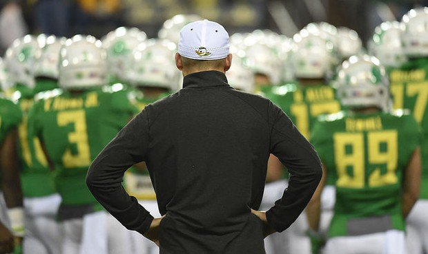 Mark Helfrich to the Chicago Bears closes an Oregon Ducks loop