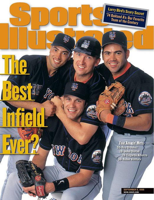 Happy Birthday, Rey Ordonez. Did you know he was once part of the best infield ever?