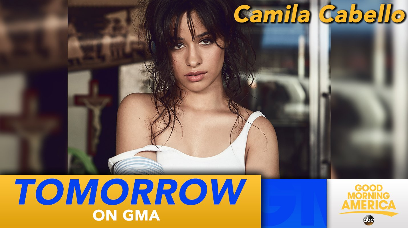 TOMORROW: @Camila_Cabello performs LIVE in Times Square!   #CAMILAxGMA https://t.co/O4UACCTE2U