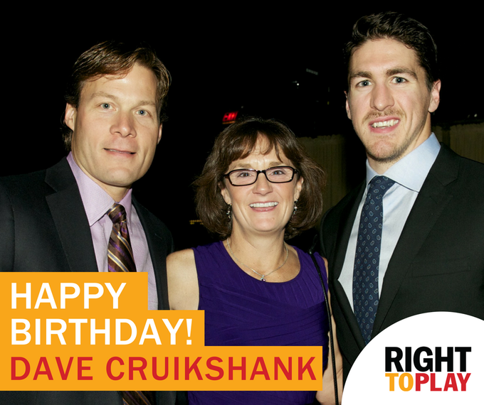 Happy Birthday to our Ambassador and 4-Time Olympic speedskater, Dave Cruikshank! : 2015 Big Red Ball