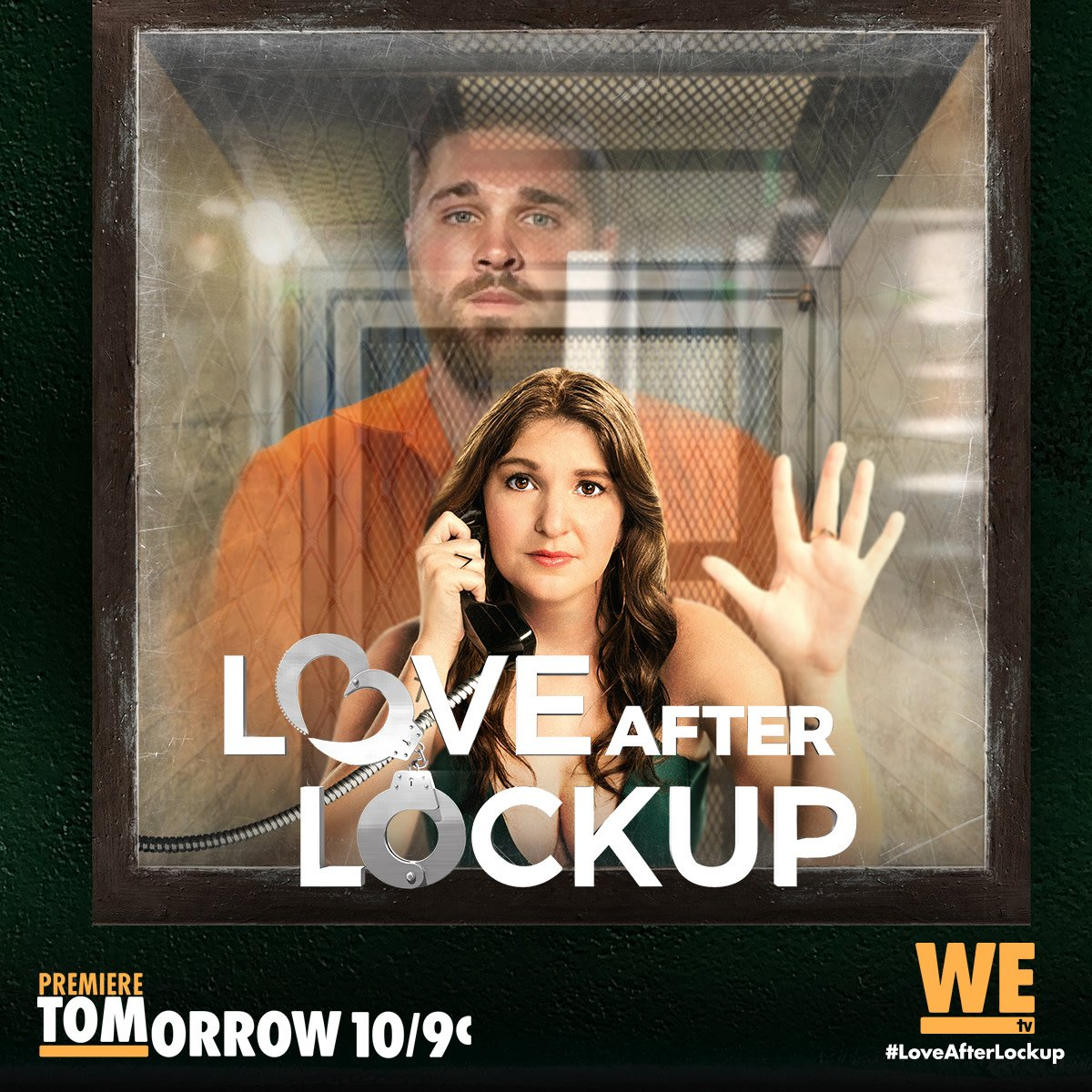 RT @WEtv: Their love is criminal. #LoveAfterLockup premieres TOMORROW at 10/9c! https://t.co/ZbCNc1IzM5