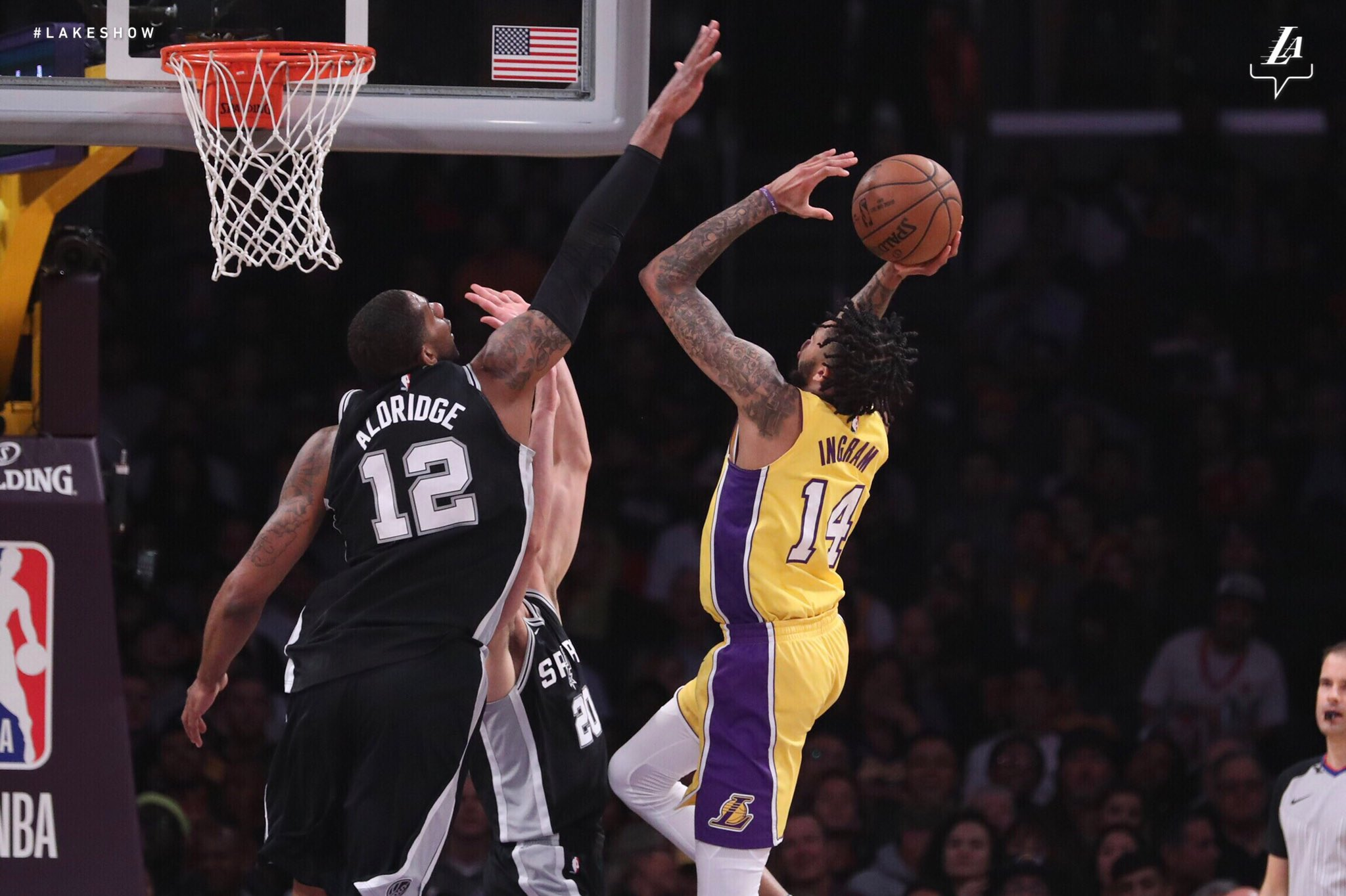 And-1️⃣! @B_Ingram13 #NBAVote https://t.co/osRqnyuOt8