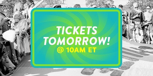 TICKETS ON SALE TOMORROW (Friday) at 10am ET! ������ Tips for saving $$$: https://t.co/PDV0okIFAo https://t.co/kCKXBnqqc6