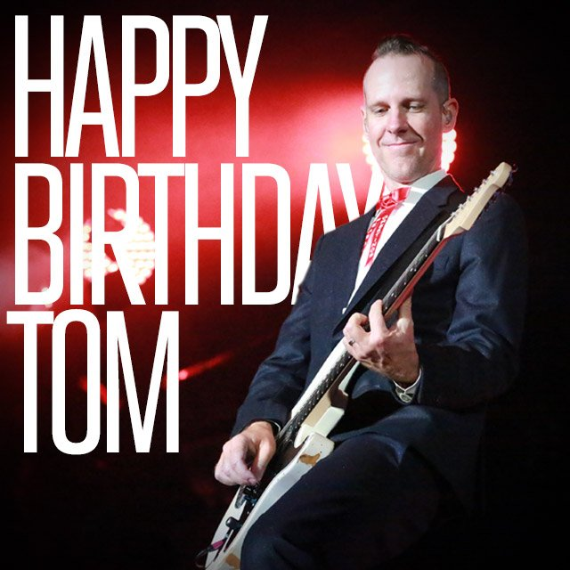 Happy birthday @TomDumont! https://t.co/NX3RiBxKZH
