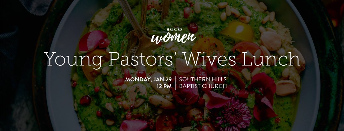 test Twitter Media - Young Pastors' Wives!!! Join us for lunch during #SEC2018 on Monday, Jan 29! This lunch is in conjunction with the @OKLAYPP Lunch.   🥗Register for the meal at https://t.co/qKydf2mUME.  🧒🏽Childcare is available by registration! 🙌🏼 https://t.co/GTEsYt6VIa