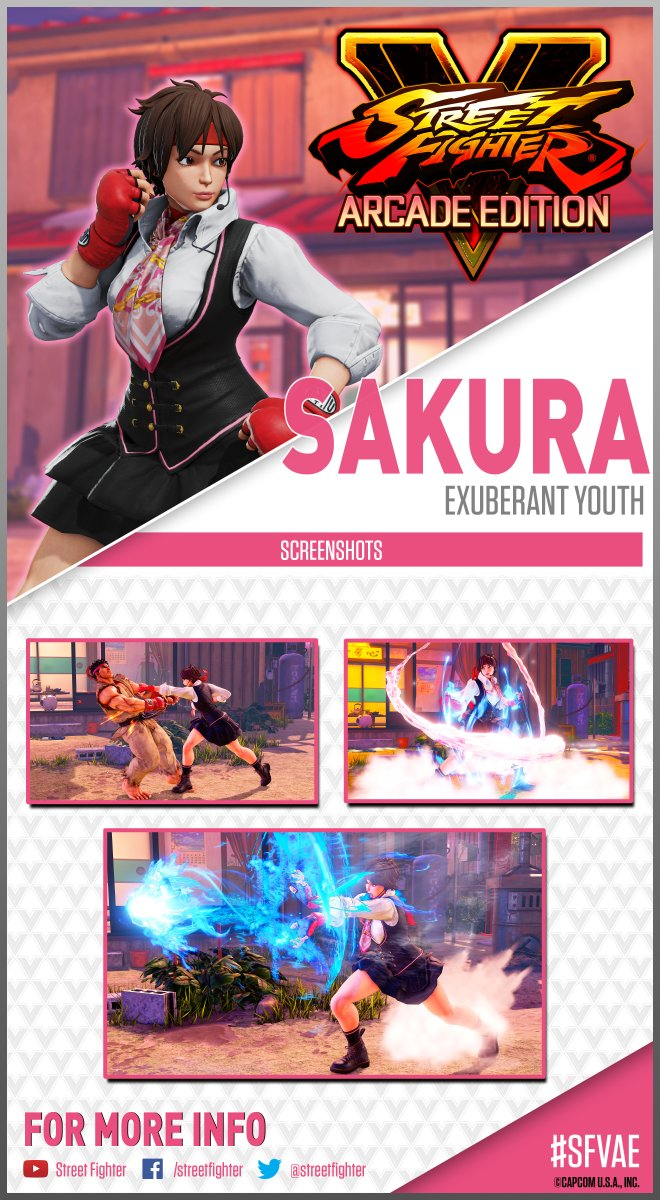 test Twitter Media - Studying time is nearly over! Sakura is ready to take her passion for street fighting to the next level! #ScreenshotSaturday 🌸 https://t.co/dEWS6k1DSX