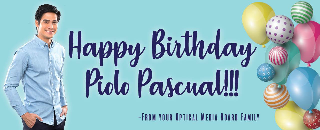 Happy Birthday to our OMB Ambassador, Mr.Piolo Pascual!!!