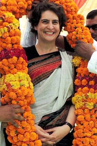 Wishing Priyanka Gandhi Vadra a very Happy Birthday.