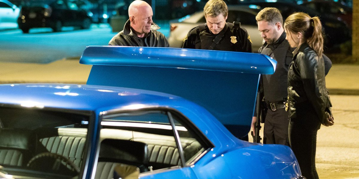 Review: Bruce Willis takes paycheck in dull 'Violence'