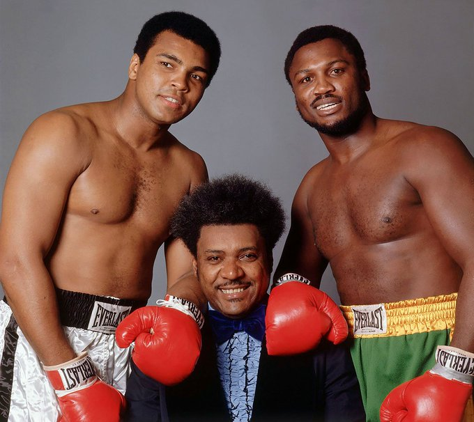 Happy Birthday to Joe Frazier, who would have turned 74 today!