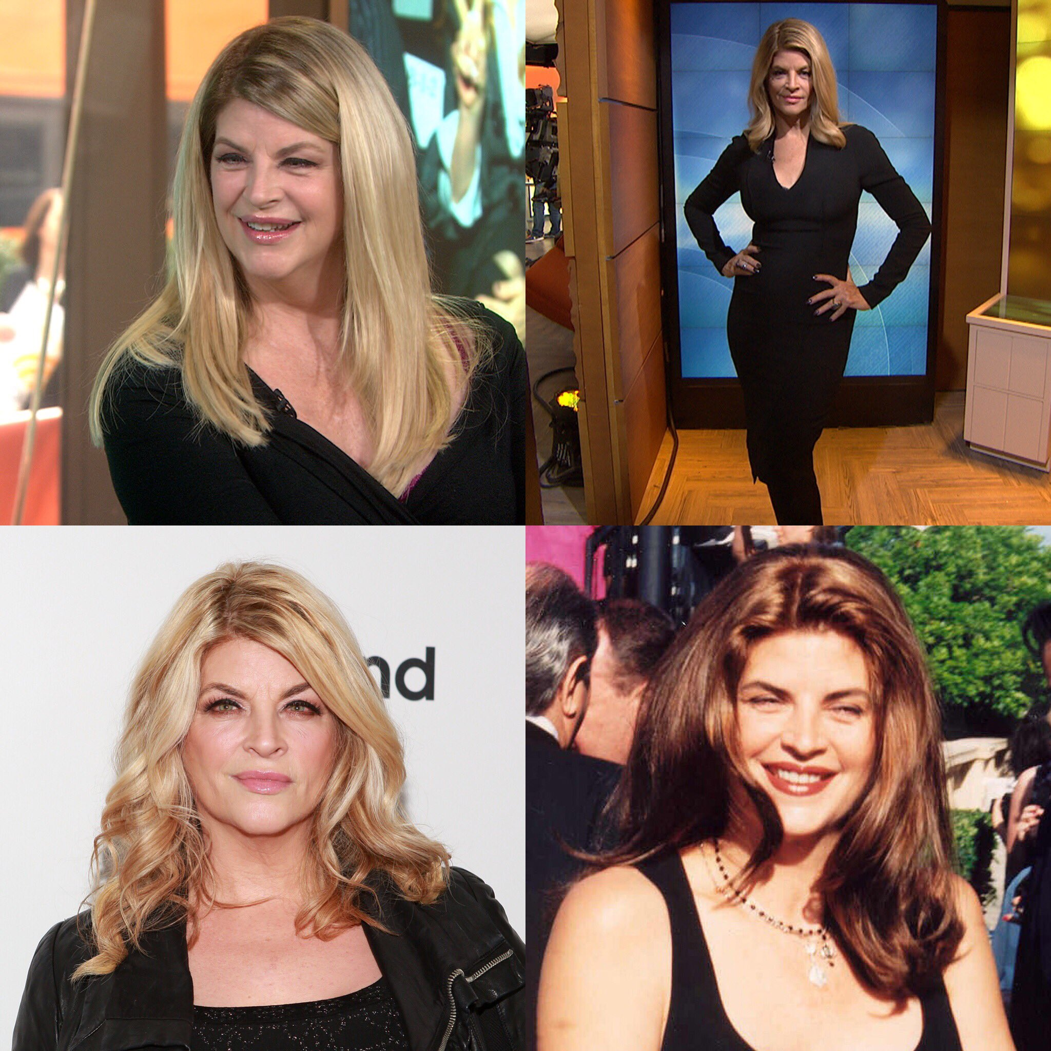 Happy 67 birthday to Kirstie Alley .hope that she has a wonderful birthday.