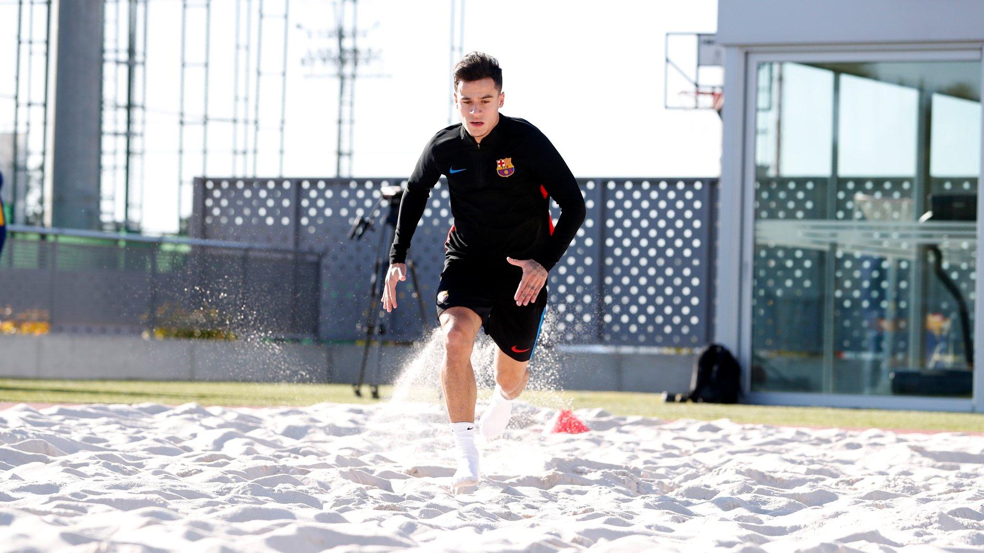 �� The hard work begins for @Phil_Coutinho �� Let's go!  ���� Força Barça! https://t.co/zK3MOHI0Iz