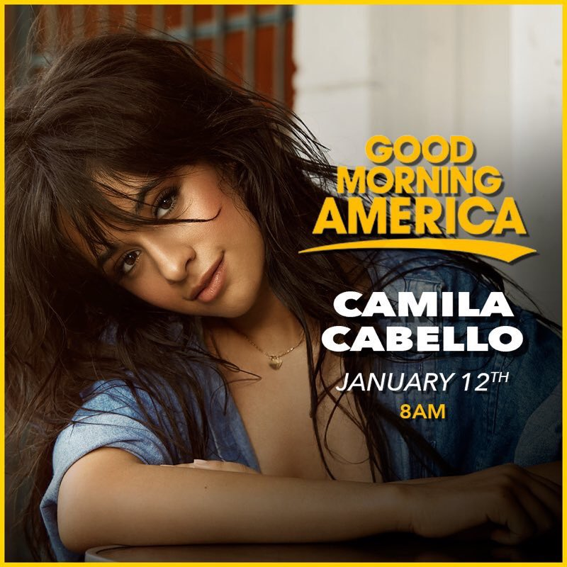 Who's watching?? Tune in now for @Camila_Cabello on @GMA �� #CAMILAonGMA https://t.co/tUeTREXAYN