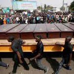 Gloom as Nigeria holds mass burial for 73 people killed in land conflicts