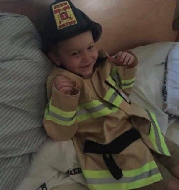 4-year-old SC boy dies in fire, made honorary firefighter - | WBTV Charlotte