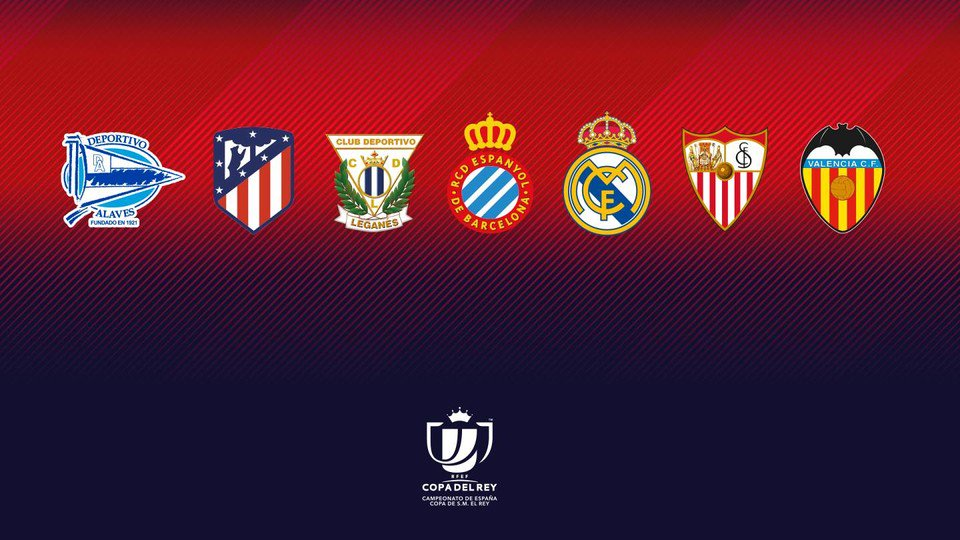 �� The Copa del Rey quater-final draw is coming up at 12.30pm CET - who do you want us to face in the last 8️⃣? https://t.co/iFjmGMyrka