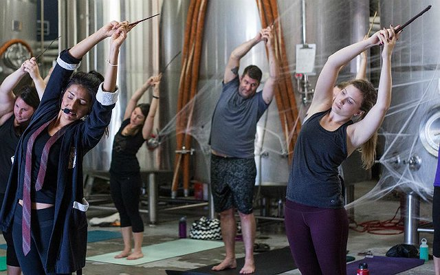 Harry Potter yoga is an actual thing and it's truly magic