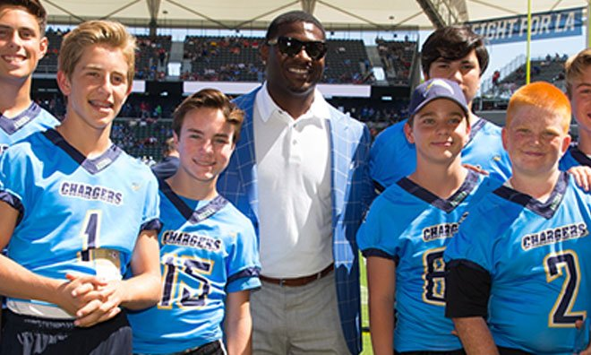Chargers Celebrate Youth Football Tradition During 2017 Season  READ: https://t.co/dGYlMUcLAF https://t.co/ubED9kRONo