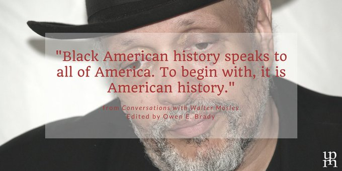 Happy Birthday, Walter Mosley! The best-selling novelist was born in 1952.