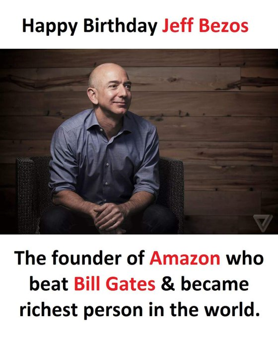 Happy Birthday Jeff Bezos