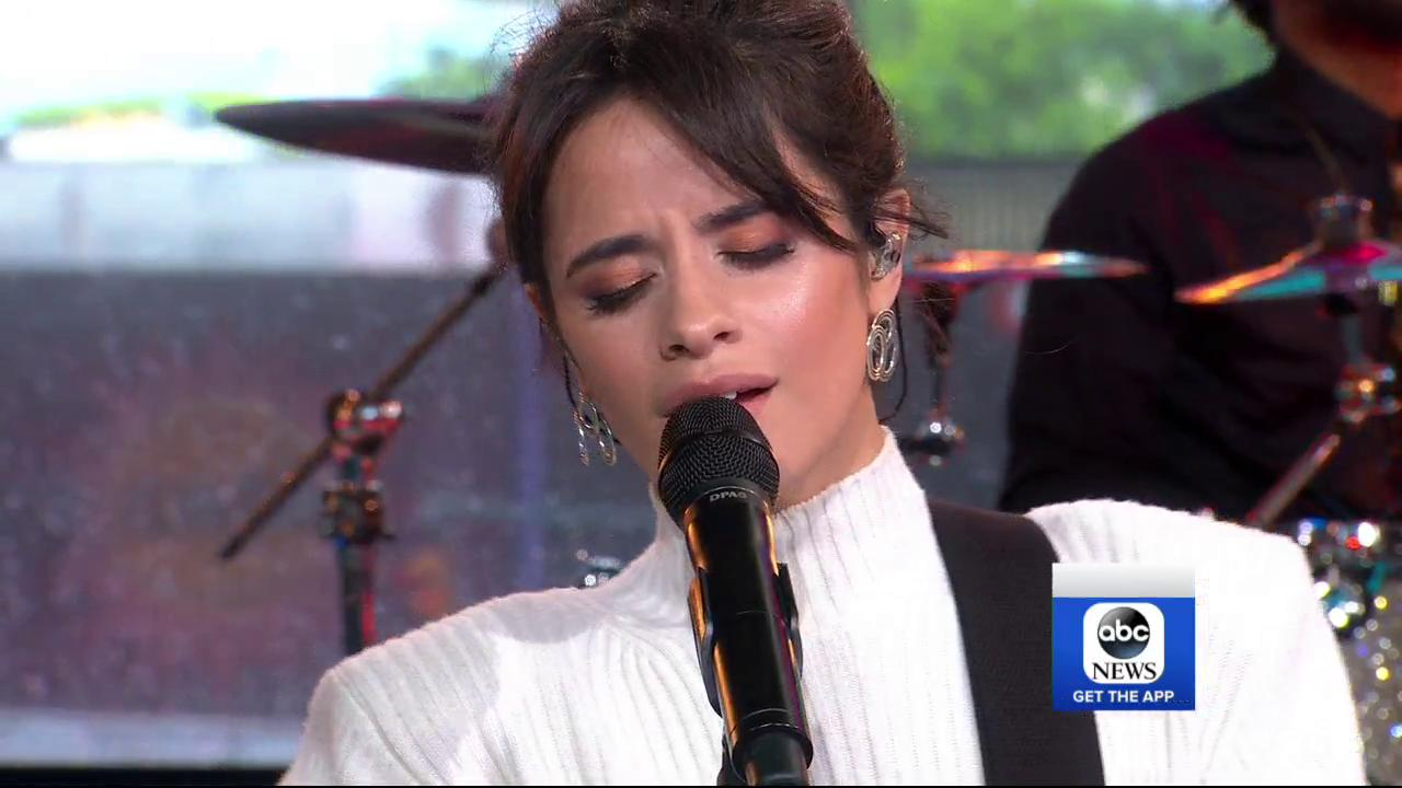 "YAAAS at @Camila_Cabello singing ""Never Be the Same"" on @GMA! #CAMILAxGMA #ThisIsCAMILA https://t.co/zBzZ2zTbEo"