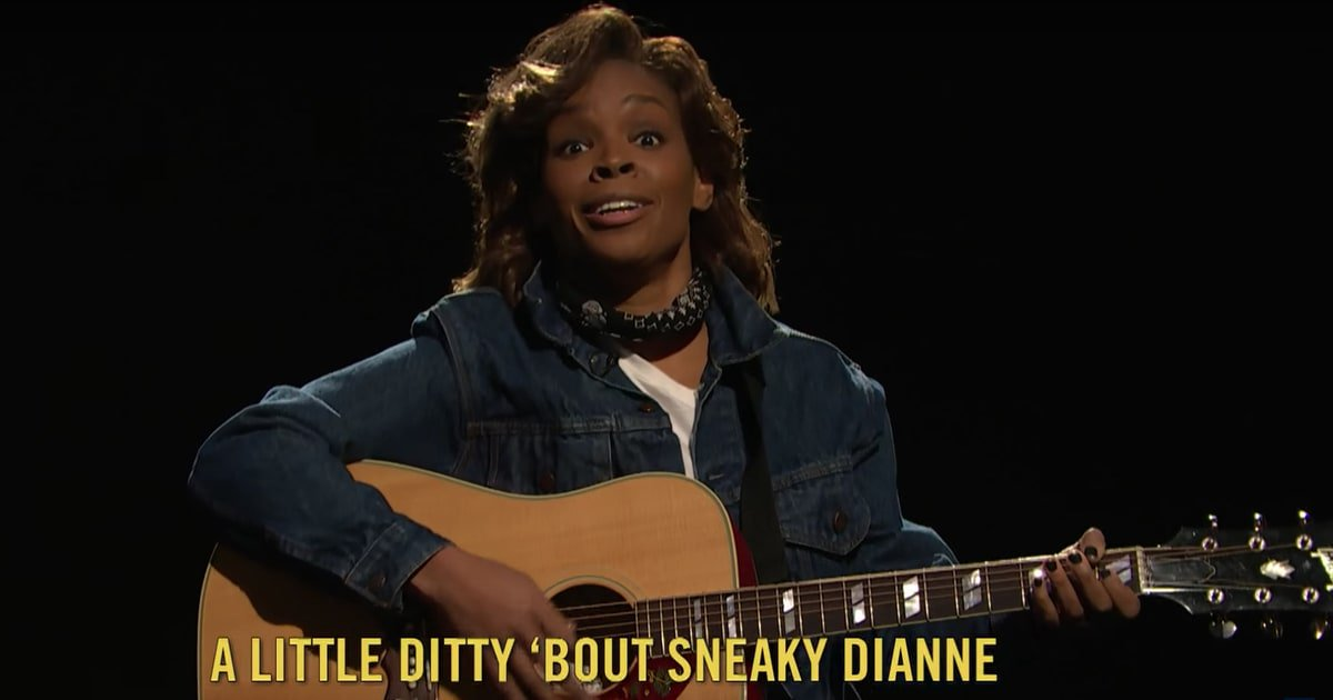 See a John Mellencamp-inspired ode to 'Sneaky Dianne' Feinstein on #LNSM https://t.co/hTRly4nP4w https://t.co/AJustwQXr6