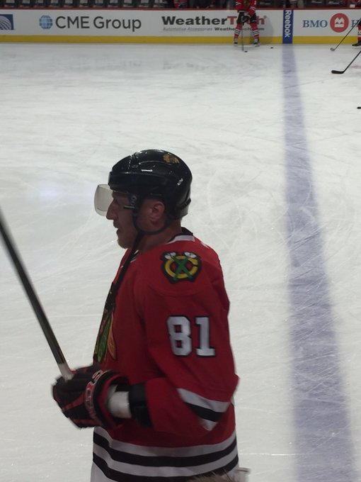 Happy 39th birthday to Marian Hossa! Get better soon and get back in the game...I miss you!