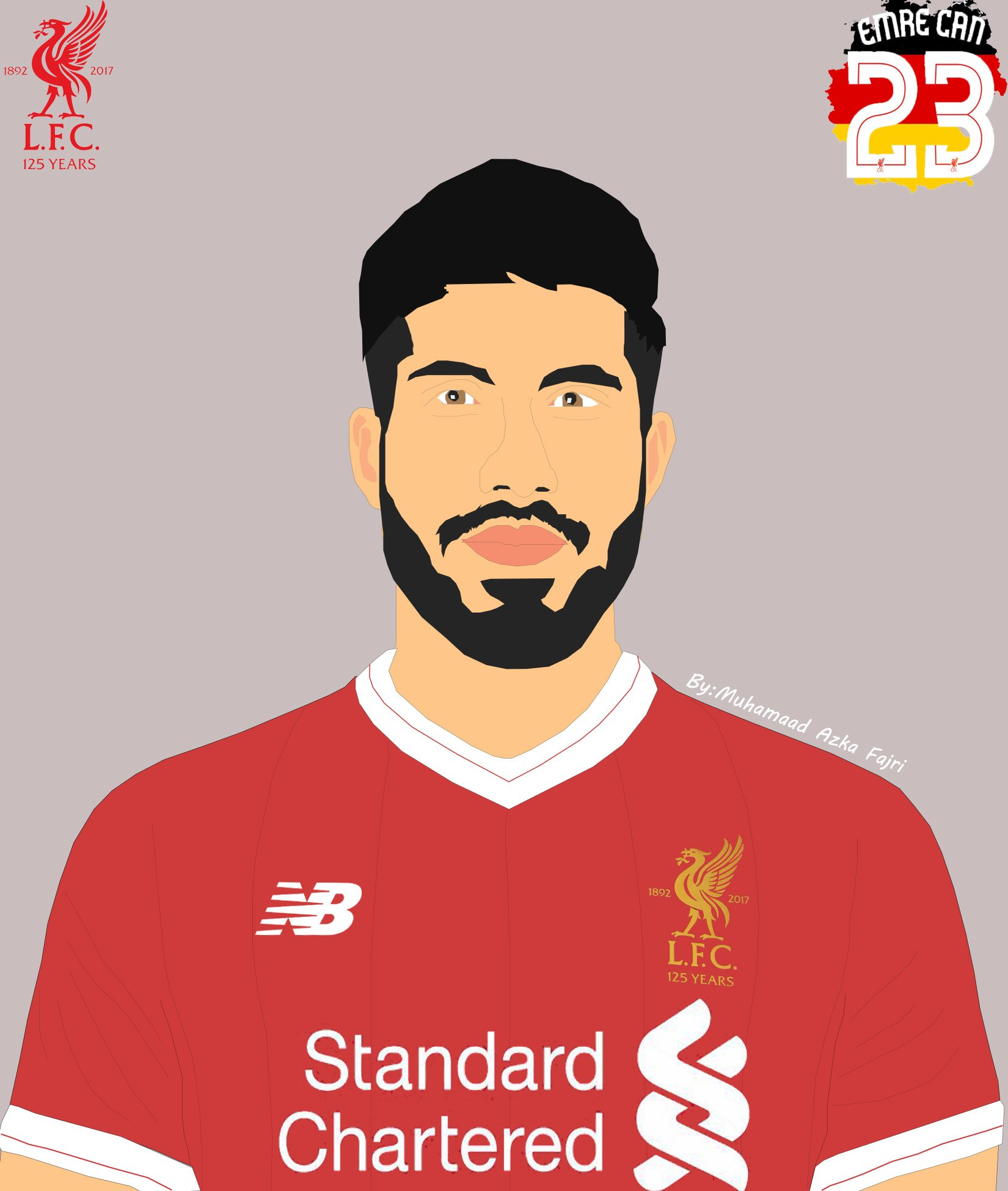 Hasil karya,Happy Birthday Emre Can!