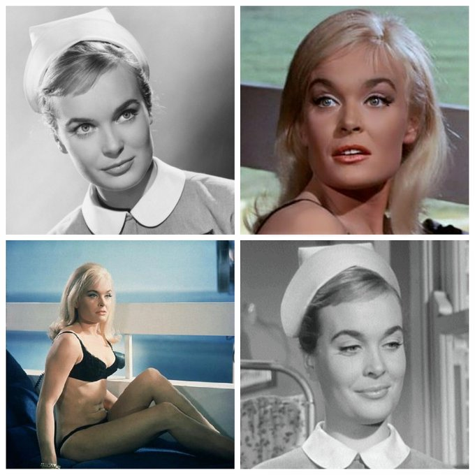 Shirley Eaton is 81 today, Happy Birthday Shirley
