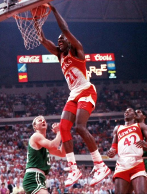 Happy birthday to the almighty Dominique Wilkins