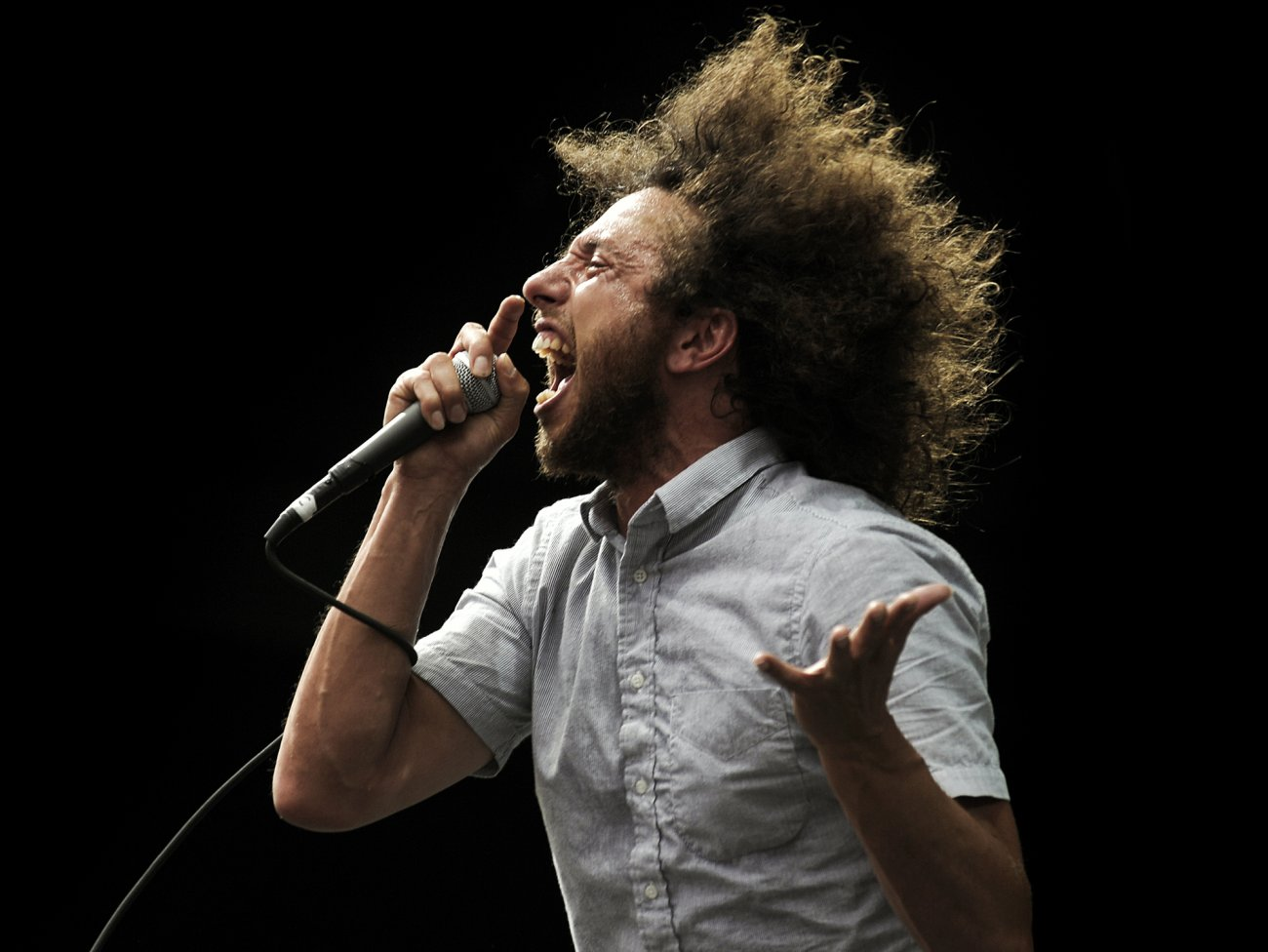 Happy birthday to Zack De La Rocha, the revolutionary voice of Rage Against The Machine.