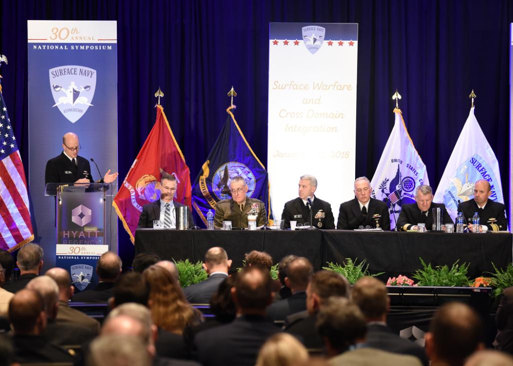30th Annual Surface Navy Association National Symposium concludes in Crystal City - https://t.co/mR7kLIABPU https://t.co/YZLguDSoW1