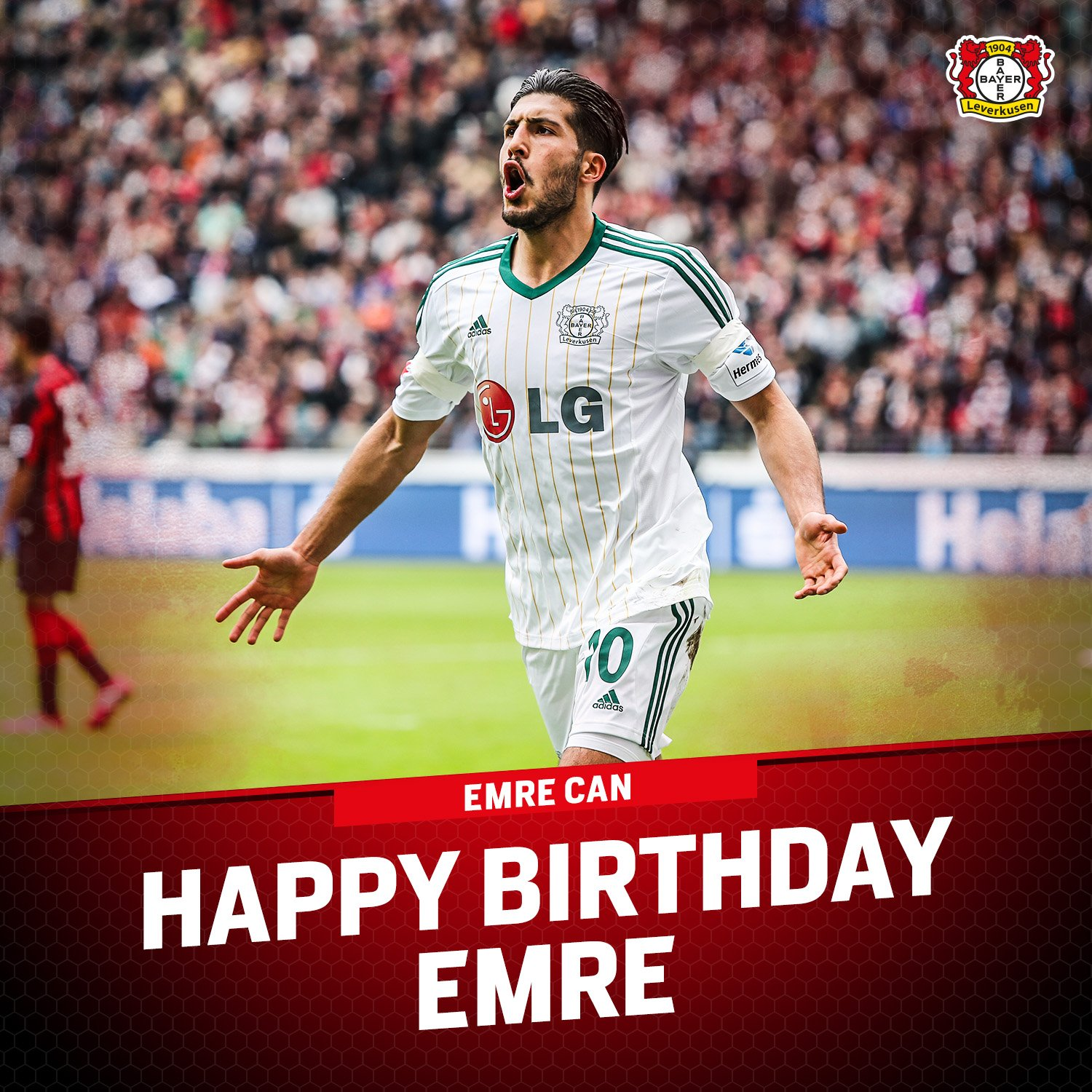 He\s played for both sides of We\re wishing a very happy birthday to former   Emre Can!
