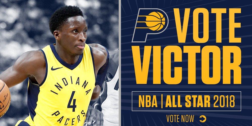 Victor Oladipo #NBAVOTE  ⭐️ 1 RT = 1 vote ⭐️ https://t.co/IdFsTOUoZC