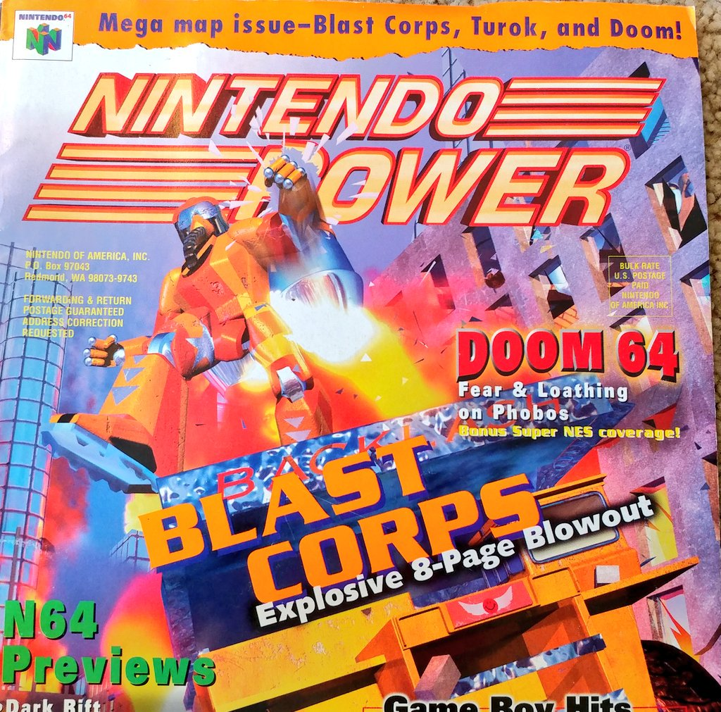 RT @DOOM: Some #DOOM 64 Nintendo Power goodness for your #FlashbackFriday, thanks to @longie_long https://t.co/5b2tYrTpbO