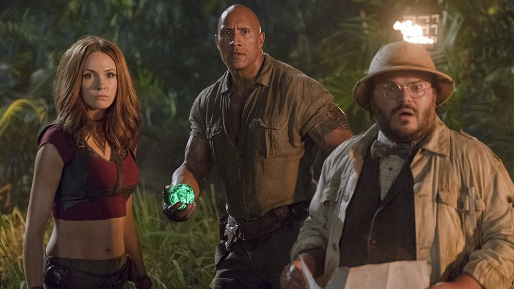 #JumanjiMovie is heading toward another strong weekend at the box office https://t.co/PVMv2vmYr7 https://t.co/GXgJDQQsqd