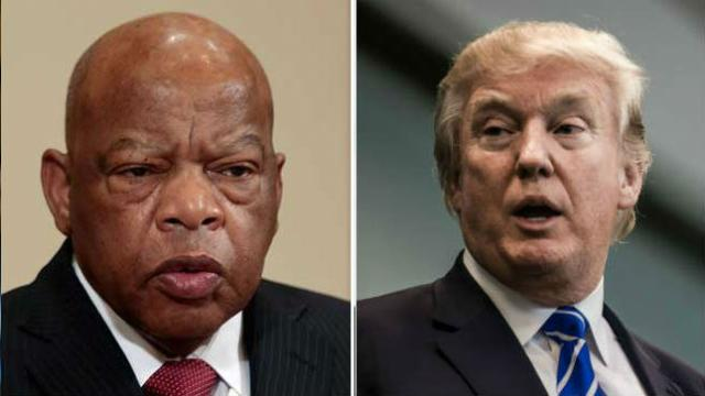 JUST IN: John Lewis boycotting Trump's State of the Union over 'shithole countries' remark https://t.co/uJWGoBJK0e https://t.co/sbMbuV2rps