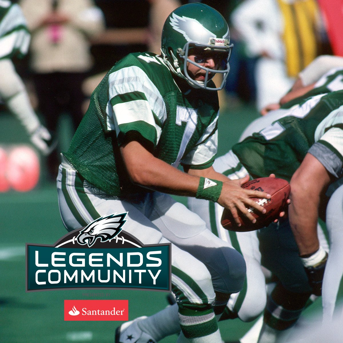 Our @SantanderBankUS Alumni Captains for #ATLvsPHI are Ron Jaworski and Jeremiah Trotter!  #FlyEaglesFly https://t.co/bxfMQtC97x