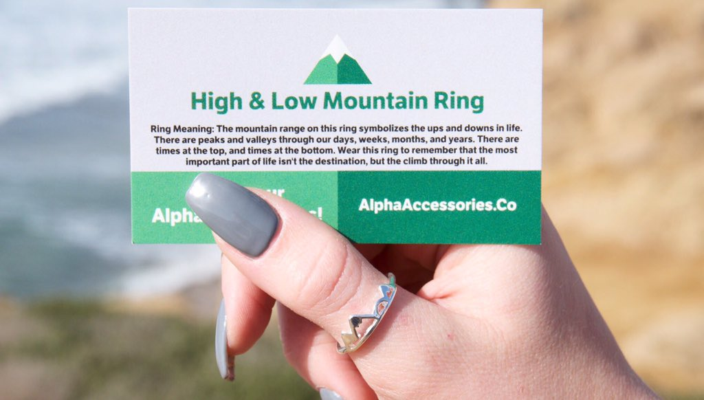 RT @BEFlTMOTlVATION: Neeed this high & low mountain ring from https://t.co/6QN7pgspDQ https://t.co/WRdlceZpfp