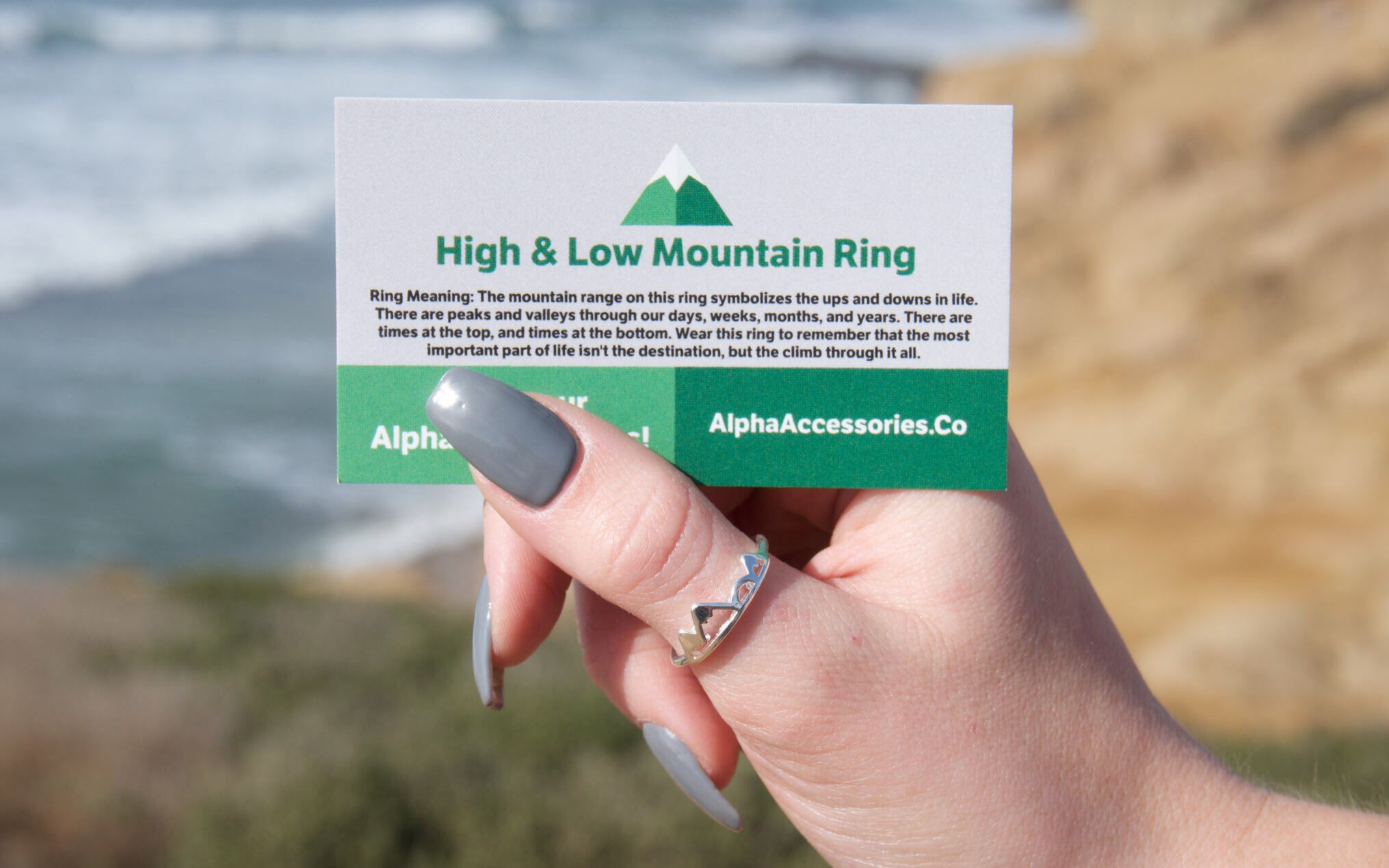 RT @BEFlTMOTlVATION: Neeed this high & low mountain ring from https://t.co/6QN7pgspDQ https://t.co/EWxfeovPwg