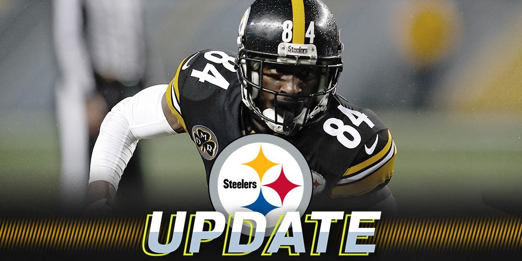 Steelers send Antonio Brown (illness) home from practice: https://t.co/7hUCTLVhee https://t.co/kQmtcee5IO