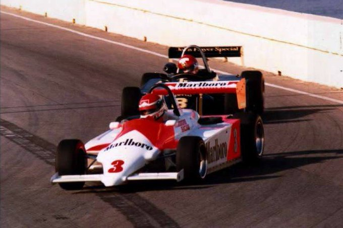 Wishing Le Mans legend who raced for WSR at the 1984 a very happy 56th birthday.