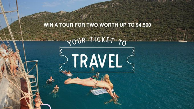 Here's Your Ticket to Travel!