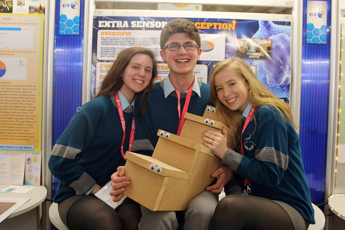 test Twitter Media - We're well represented at @BTYSTE with the wonderful Keri, Brian & Hazel @colaistechoilm coming 3rd in the Behavioural Science category for their project testing pseudoscientific claims of extrasensory perception with @gillysmurf @UCC well done all! https://t.co/qPSYXVfelF