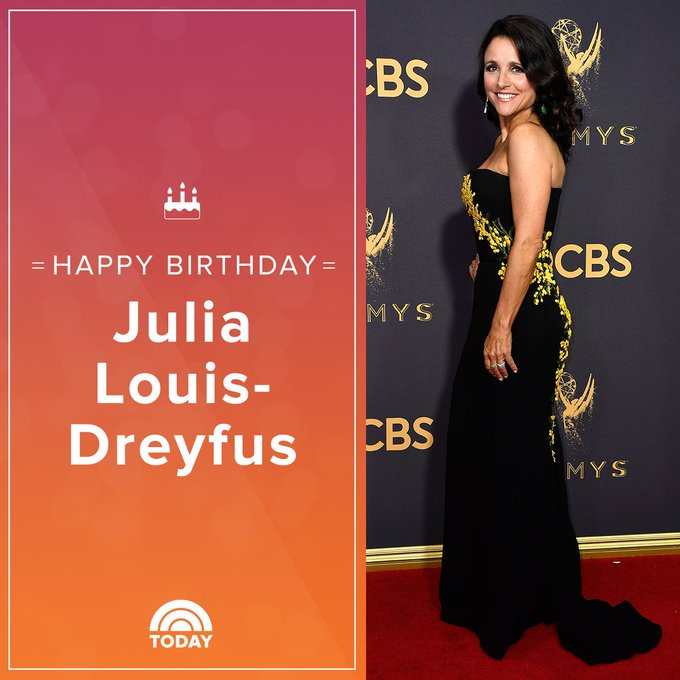 Happy birthday to the lovely Julia Louis-Dreyfus!
